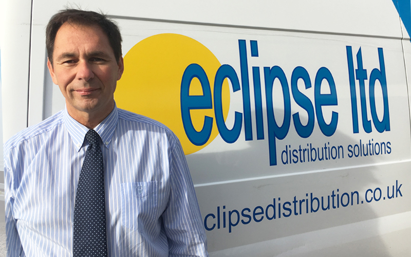 An image showing David Ash, the Managing Director of Eclipse Distribution Solutions Ltd