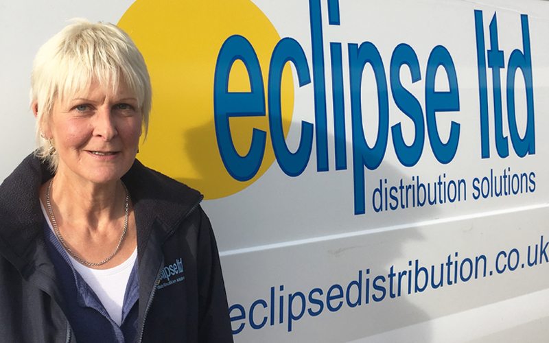 An image of Helen Steel, the Accounts Administrator for Eclipse Distribution Solutions Ltd