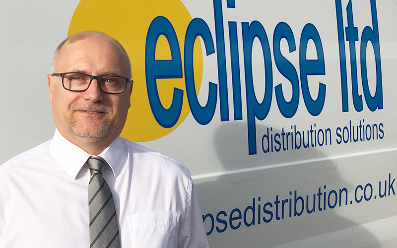 An image showing Richard Carpenter, the Transport Manager for Eclipse Distribution Solutions Ltd