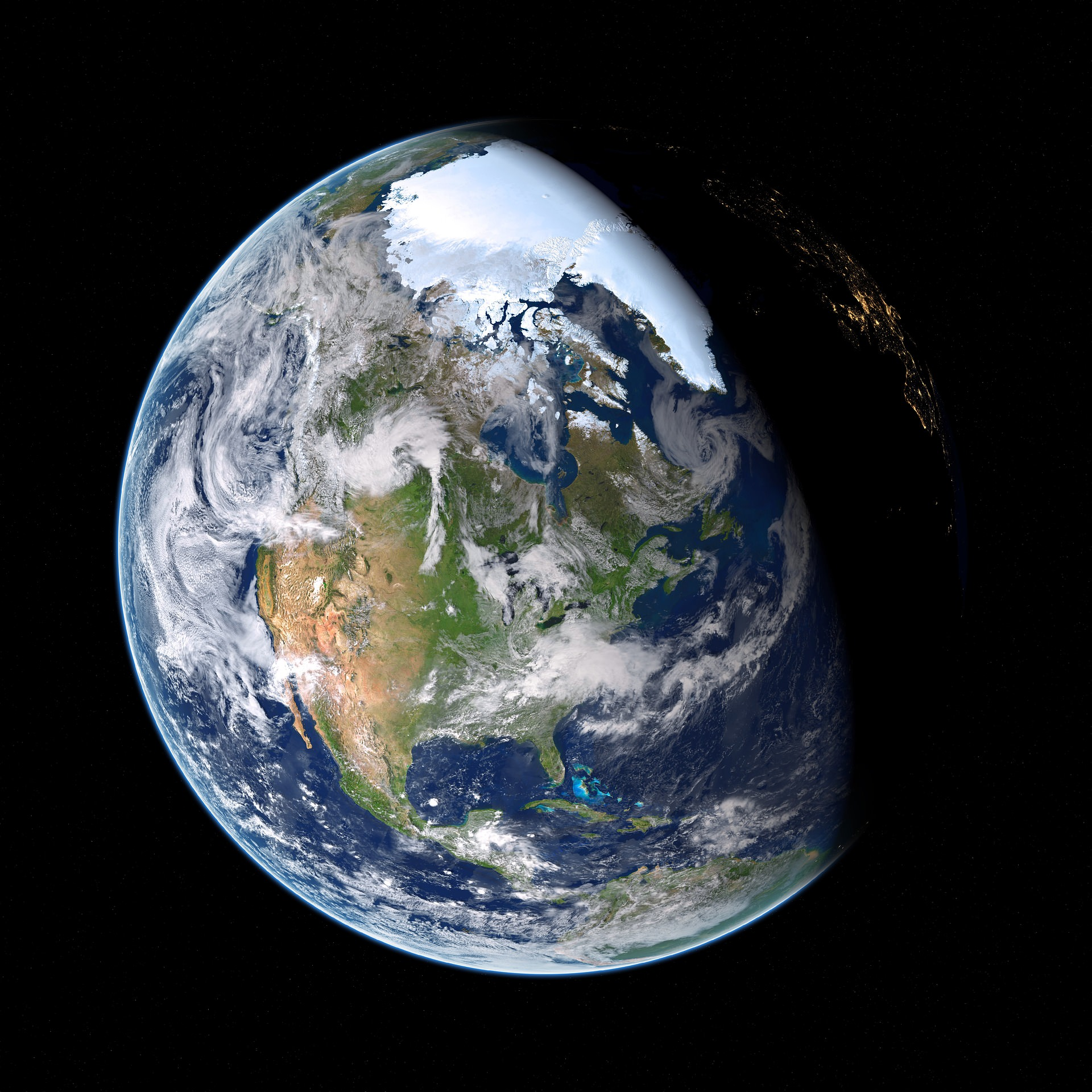 An image of planet earth.